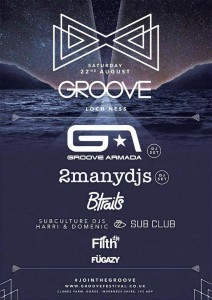 Groove Loch Ness 2015 Poster