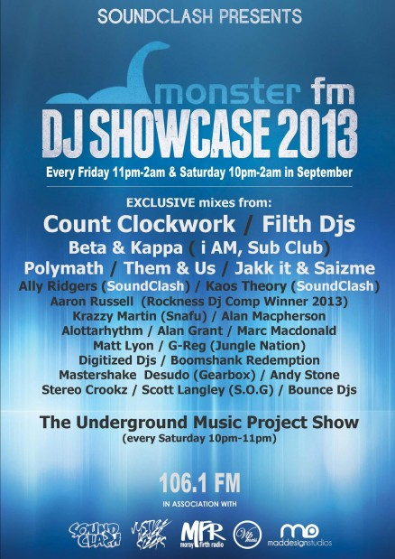 Monster FM DJ Showcase 2013