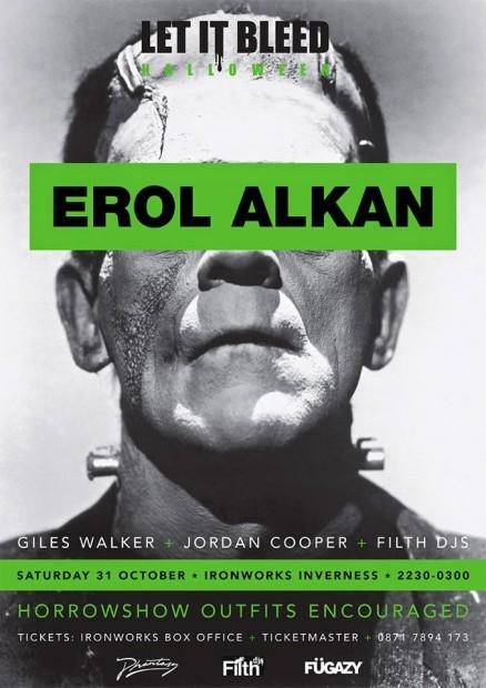Erol Alkan - Letitbleed