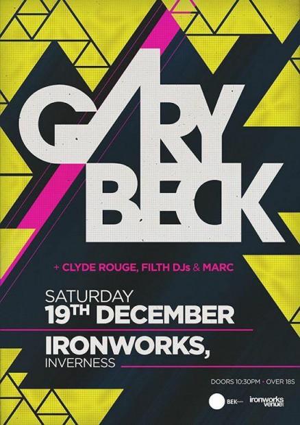 Gary Beck - Ironworks 2015
